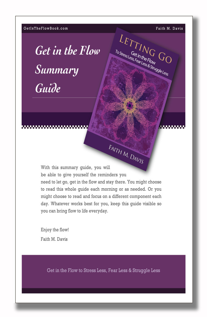 Get in the Flow Summary Guide Image